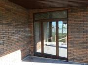 Фото пластиковых дверей - выход на террасу