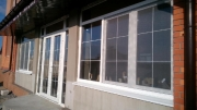Скління фасаду котедж Новоолександрівка - 6