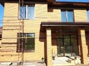 Ламинированные окна Rehau 70 в новом коттедже