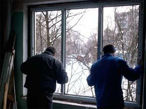 Установка металлопластиковых окон в зимний период времени. Часть 1.
