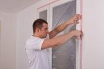 Как защитить пластиковое окно во время ремонта